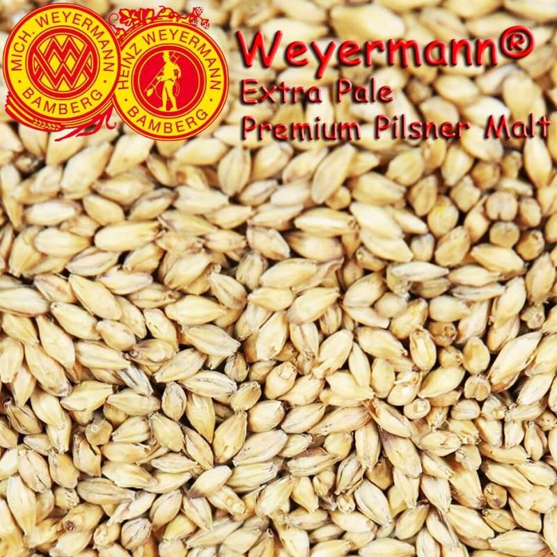 Weyermann® Extra Pale Premium Pilsner Malt x 25kg