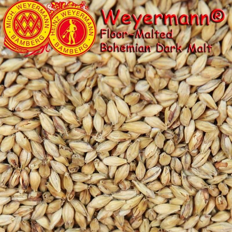 Weyermann® Floor-Malted Bohemian Dark Malt x 25kg