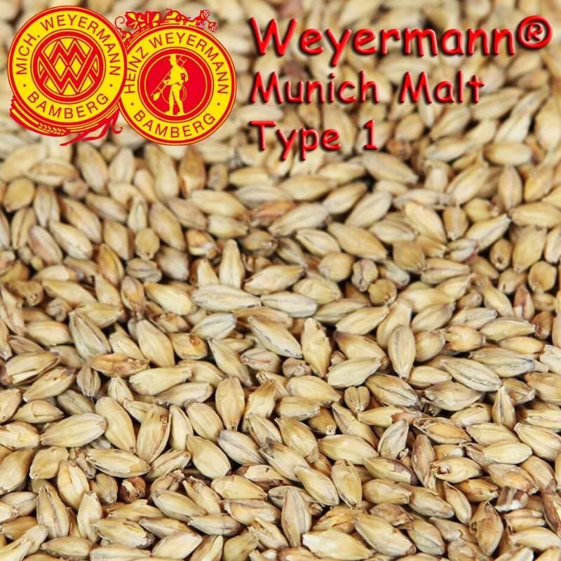 Weyermann® Munich Malt T1 (Light) x 25kg