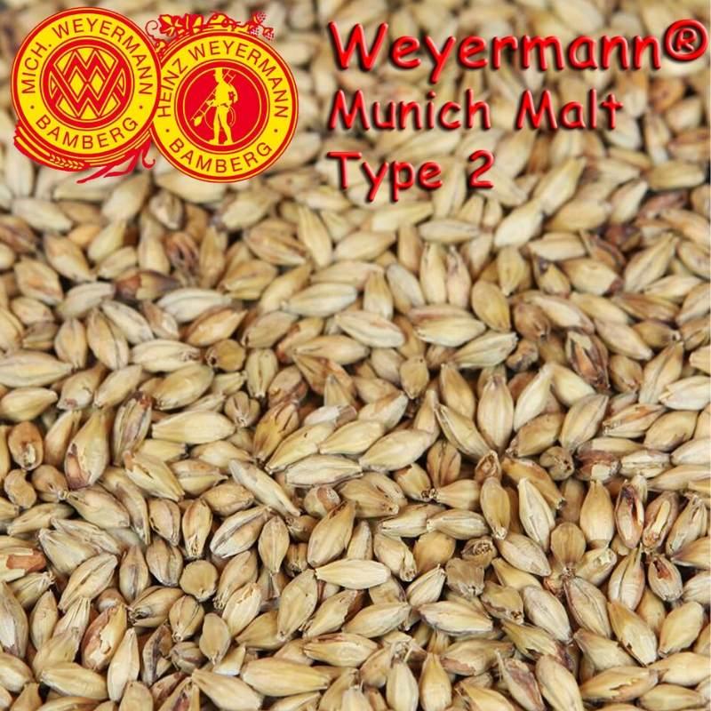 Weyermann® Munich Malt T2 (Dark) x 25kg
