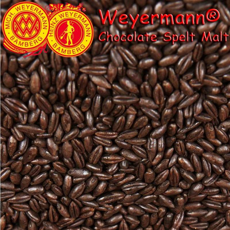 Weyermann® Chocolate Spelt Malt (Roasted) x 25kg