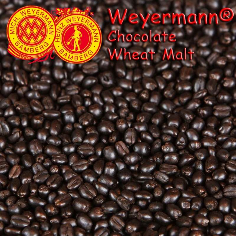 Weyermann® Chocolate Wheat Malt (Roasted) x 25kg