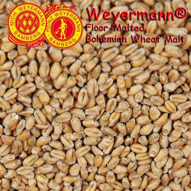 Weyermann® Floor-Malted Bohemian Wheat Malt x 25kg