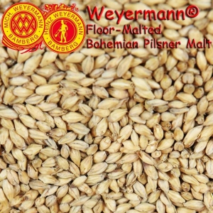 Weyermann® Floor-Malted Bohemian Pilsner Malt x 25kg