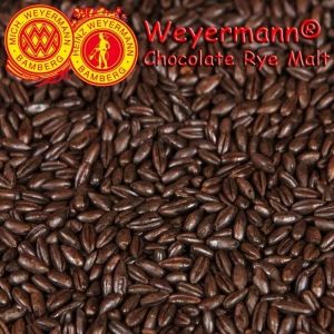 Weyermann® Chocolate Rye Malt (Roasted) x 25kg